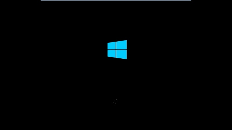 Windows 10 Loading Screen