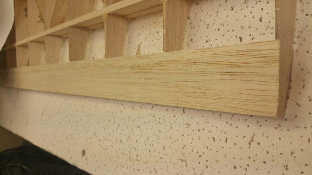Trimmed & Sanded Trailing Edge