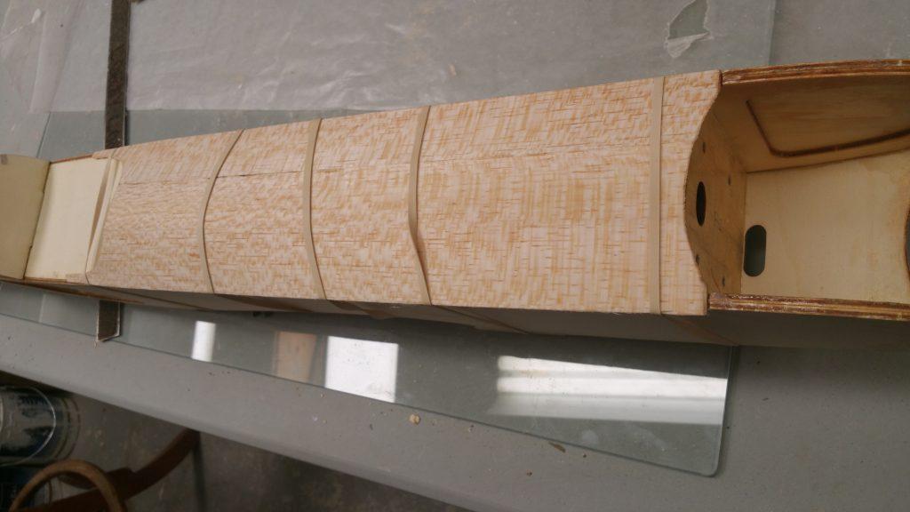 Shaping Balsa Top Deck