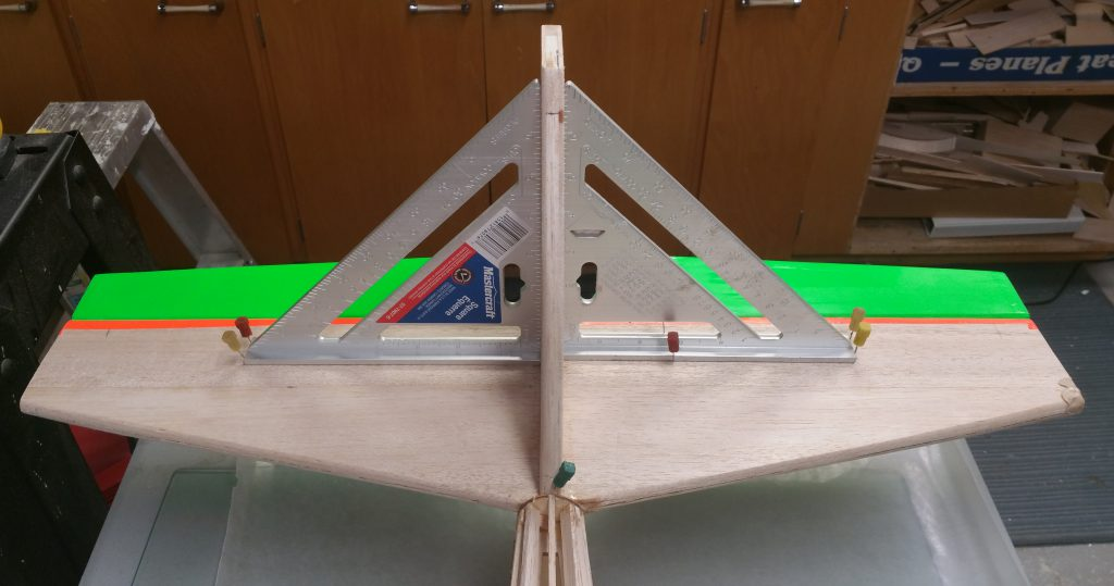 Fin Glued to Stabilizer (From Front)