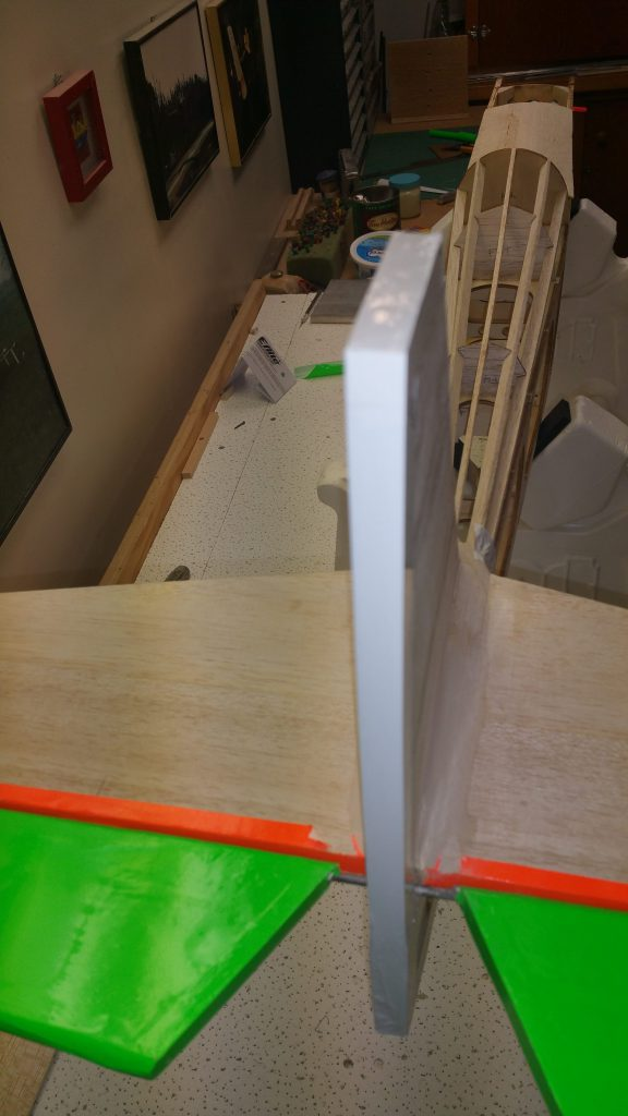 Trailing Edge & Top of Fin Covered