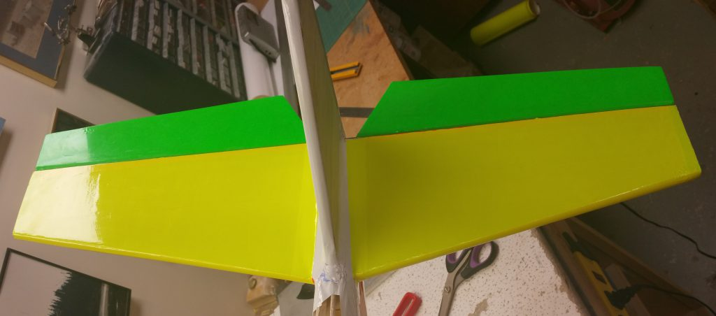 Top of stabilizer covered
