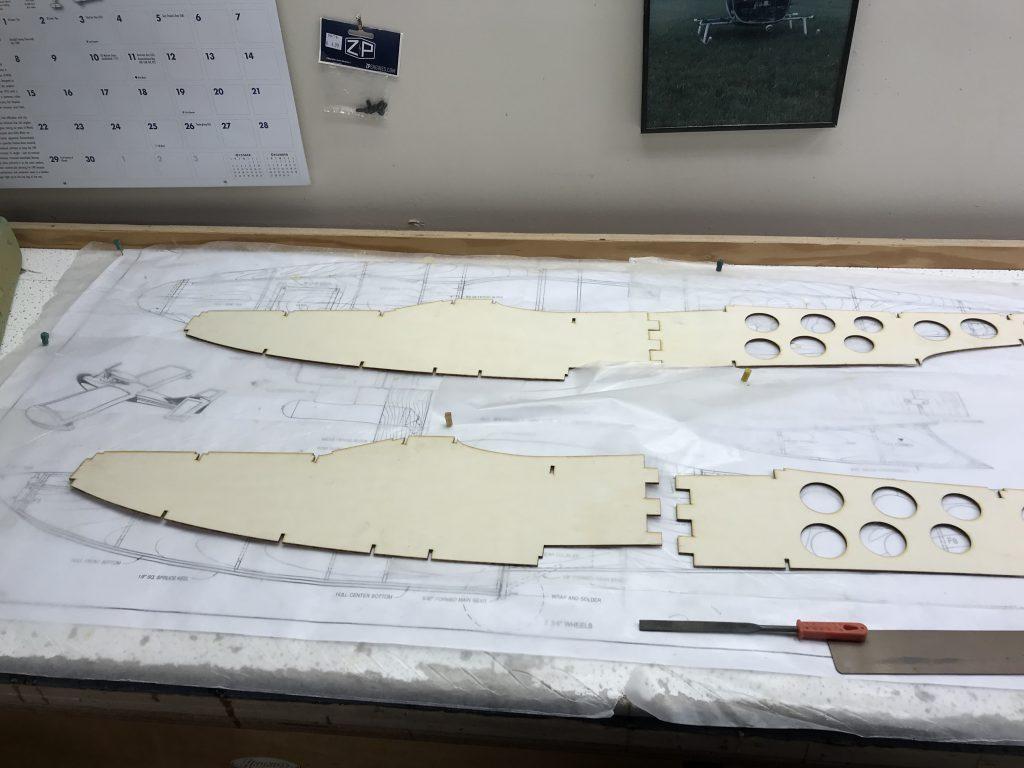 Seamaster Fuselage Sides - Front