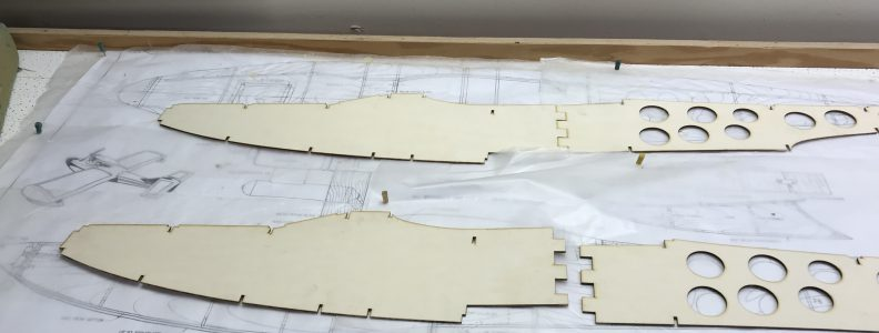 Seamaster Fuselage Sides - Front