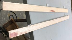 Ailerons touched up