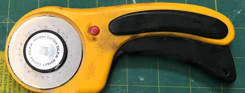 Rotary Cutter used for cutting fiberglass