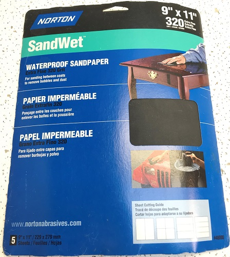 SandWet Waterproof Sandpaper